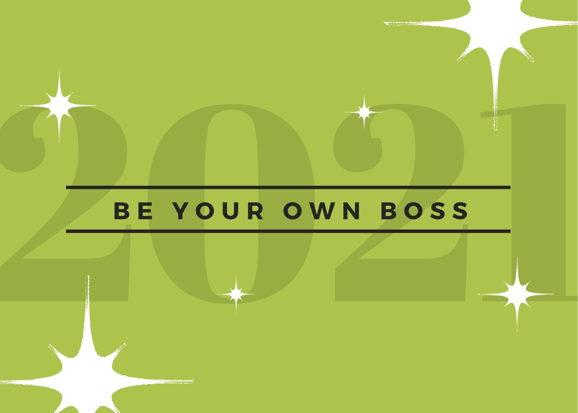 To being your own boss